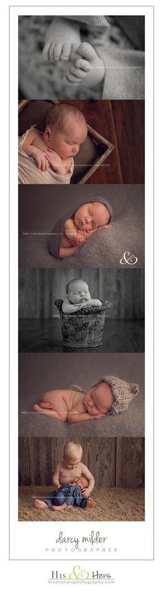 Des Moines, Iowa Newborn Photographer | Darcy Milder | His & Hers