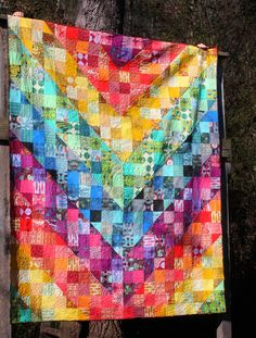 Old Red Barn Co.: Color Dive Quilt