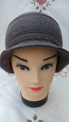 Cute and different crochet hat, by Prnic Georgeta.