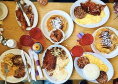 Called the oldest soul food restaurant in Washington, this Southern cookin', U Street spot attracts . Meatloaf With Gravy, Soul Food Restaurant, Best Diner, Grilled Ham, Homemade Muffins, Chocolate Malt, Breakfast Plate, Fried Onions, Places To Eat