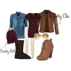 """#2waycountry"" by msmatched30 on Polyvore"