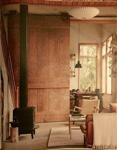 Rustic Living Room | Martha Stewart magazine