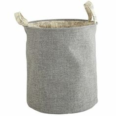 Collette Canvas Hamper   Pier1