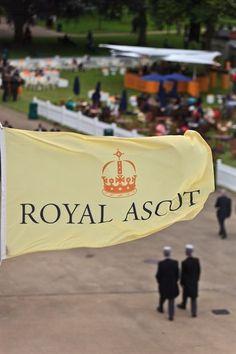 Vestito nero royal ascot advertisement
