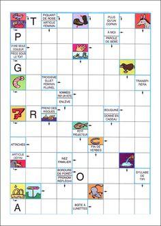 Mots fléchés à imprimer Group Activities, Activities For Kids, Games For Kids, Diy For Kids, French Expressions, Easy Halloween Crafts, Home Schooling, Teaching Kids, Montessori