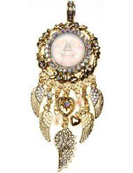 KIRKS FOLLY SEAVIEW MOON FLY HOME ANGEL FREE SPIRIT MAGNETIC ENHANCER goldtone