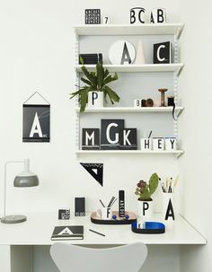 Design Therapy | DESIGN OBSESSION : VINTAGE ABC DESIGN LETTERS and FRIENDS…