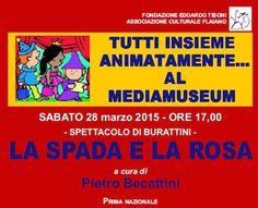 La Spada e la Rosa: il 28 marzo spettacolo di burattini a Pescara - Eventi