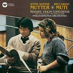 Anne-Sophie Mutter - Mozart: Violin Concerto No. 2 & 4