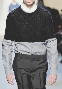 by Kris Van Assche  ...this is one knitting thing that just does not work for me.