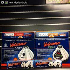 #Repost @wonderlandrpb  Volcanos in stock at both shops! @wonderland561 #volcano #volcanovaporizer #vape #vapelife #florida #headshop #smokeshop #vapeshop
