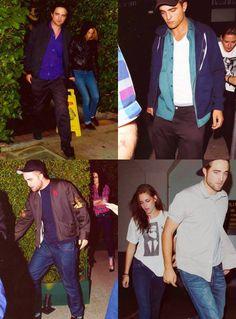 Kristen & Rob collage