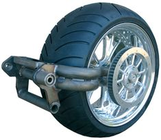 300 Tire / 330 Tire Single-Sided Swingarm Conversion Kits for Evolution Softails – Custom Motorcycle Parts, Bobber Parts, Chopper Motorcycle Parts by Eurocomponents Custom Motorcycle Parts, Motorcycle Wheels, Bobber Motorcycle, Custom Motorcycles, Girl Motorcycle, Custom Choppers, Motorcycle Quotes, Triumph Motorcycles, Scooter Design