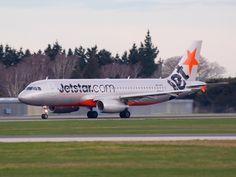 Jetstar A320 at Christchurch  Type: Airbus A320-232 Registration: VH-VFF Location: Christchurch International Airport Date: 02/09/2012