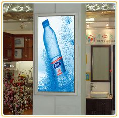 Good Quality Snap Frame LED Slim Light Box picture from Changzhou Sanren Advertising Material Co. view photo of Slim Light Box, Aluminum Light Box, ...