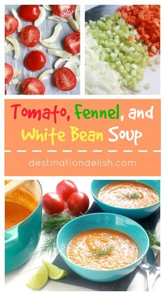 Tomato, Fennel, and White Bean Soup (4 PP)