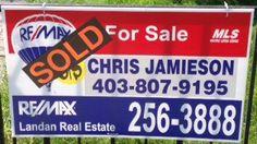 SOLD!  www.chrisjamieson.ca