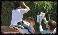 Terapia con caballos niños con TEA. Aula Específica TEA