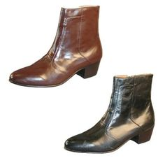 Giorgio Brutini 80575 Men's Dress Boots Cuban Heel Leather