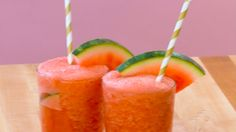 Watermelon Frosé: Your favorite wine as a summery slushie!