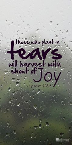 Free Download at http://ibibleverses.christianpost.com/?p=9370  Those Who Plant in Tears  #tears #plant