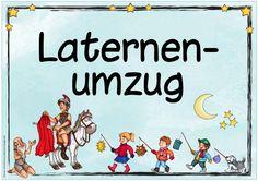 Plakat für den Laternenumzug  Heute gibt es ein Plakat  für den baldigen Laternenumzug am Martinstag. Die Datei enthält zwei Varianten des ...