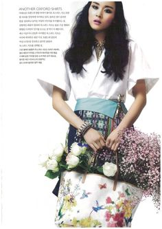 Jung Ji Young for Style H Korea March 2014