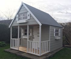 1000 ideas about wendy house on pinterest childrens for Wooden wendy house ideas