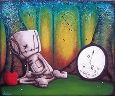 Way cool stuff, especially if you thought Tim Burton was cool: Fabio Napoleoni