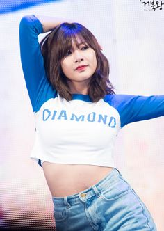 """Hayoung Facts: – She was born in Seoul, South Korea. – She was part of the girl dancing crew in """"Beautiful"""". South Korean Girls, Korean Girl Groups, Oh Hayoung, Pink Panda, Girl Body, Girl Dancing, Beautiful Asian Girls, Korean Singer, Kpop Girls"""