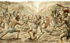 Dacians battle Romans