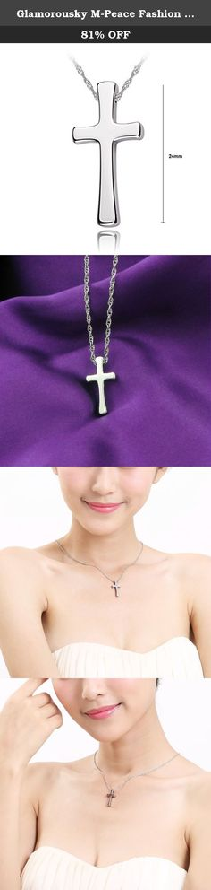 Glamorousky M-Peace Fashion Tungsten Cross Pendant with Stainless Steel Necklace For Women (11376). About Glamorousky Indulge yourself with glamorous fashion jewelry! Glamorousky boasts of numerous elegant necklaces, pendants, earrings, bangles, bracelets, air accessories, brooches in various designs to choose from. Jewelry brand ''Glamorousky'' succinctly sums up its collections. The various collections of Glamorousky offer exquisite beauty, a wide selection and accessible price points…