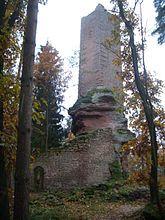 Wasgau News - Aktuelle News aus der Region: Burg Wineck bei Dambach (Elsass) - Château de Wine...