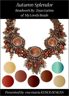 Colorway:  Zoya Gutina  Website:  http://www.mylovelybeads.com/home.php