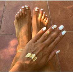 39 Trendy Pedicure C Pedicure Colors, Manicure Y Pedicure, Mani Pedi, Toe Nail Color, Nail Colors, Manicure Delivery, White Nails, Pink Nails, Hair And Nails