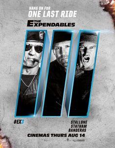 Nuevo póster y spot de 'Los mercenarios 3'