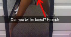 Leaked Snapchat Selfies!