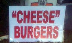 I wonder what they're using instead of cheese?