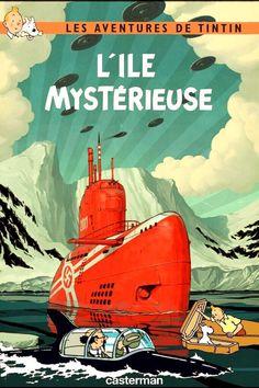 Les Aventures de Tintin - Album Imaginaire - L'Île Mystérieuse: