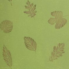 "This design outlines a beautiful tree leaf anatomy to simulate real falling leaves – indoor or out! Use this stencil to cover walls, floors, furniture, lampshades, and DIY projects. Well, what are you waiting for? Create some natural, woodland inspired ambience in your home today! The 20"" x 20"" stencil sheet is cut from light but durable material, is easily maneuverable, and makes for precise strokes comparable to professional artwork. The 16.58"" w x 17.66"" h Leaves pattern makes for fewer…"