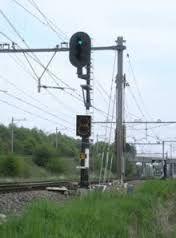 nederlandse seinen - Sein met losse cijferbak Utility Pole, Dutch, Signs, Lights, Dutch Language