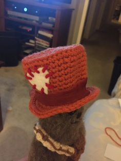 Mad Hatter hat for Chewy