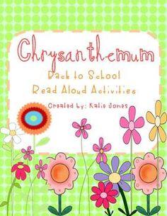 Chrysanthemum back to school activities