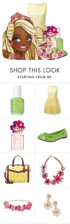 """""""Nina Thumbell outfit-Maddy"""" by pinkie8 ❤ liked on Polyvore featuring Essie, RED Valentino, Marc Jacobs, Funtasma, Isabella Fiore, Erickson Beamon, women's clothing, women, female and woman"""