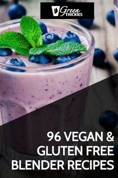 These delicious blender recipes are all gluten-free, vegan, based on whole foods, and perfect for detoxing, cleansing and weight loss. Healthy Blender Recipes, Raw Vegan Recipes, Vegan Meals, Vegan Gluten Free, Whole Food Recipes, Plant Based Vegan Diet, Healthy Carbs, Meal Replacement Shakes, Recipe Today