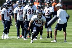 Wes Welker was amongst the first day highlights at today's OTA's. - USA TODAY Sports