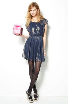 Lush 'Stella' Chiffon Dress (Juniors)   Nordstrom $48