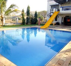 Karjat Villa :- There is a well-maintained swimming pool with crystal clear water. The pool is always kept fresh with regular cleaning and filtration.
