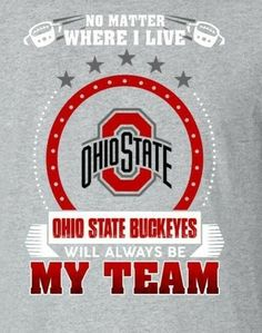 No matter where I️ live Ohio State Buckeyes will always be My Team #footballncaateamwallpaper