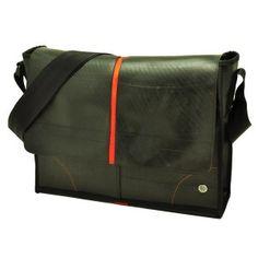 Obrero Plus messenger/laptoptas 13.3 inch van autoband  - oranje Messenger Bag, Satchel, Bags, Handbags, Crossbody Bag, Bag, Backpacking, School Tote, Totes